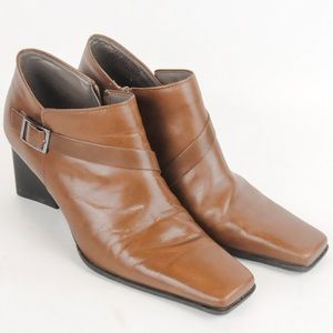Enzo Angiolini - Tan Ankle Boots - Size 8.5